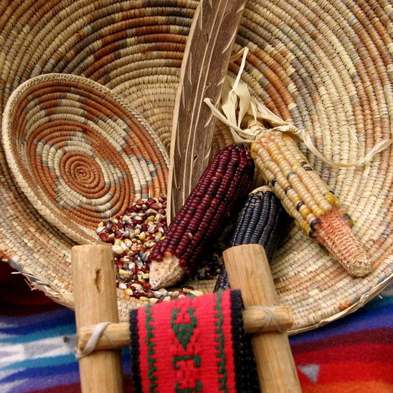 bigstock-Native-American-Basketry-5539448